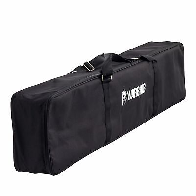 Warrior Black Padded Full Length Carry|Storage Bag For Motorcycle Loading Ramp