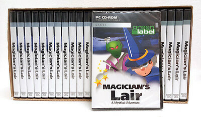 Wholesale Box Of 25 - Magicians Lair A Mystical Adventure - PC CD-Rom Games