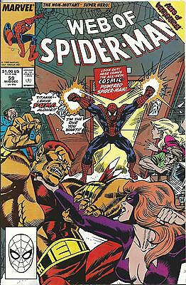 Web Of Spiderman #59 (Marvel) Acts Of Vengeance