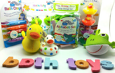 Bathtime Buddies for Brilliant Toddler Bath Toys , Bath Buddy, Bath Tidy,Ducks