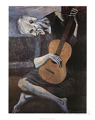 The Old Guitarist, c.1903 Art Print By Pablo Picasso - 22x28
