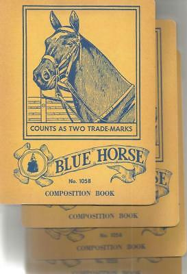Blue Horse Vintage Notebook (Pack of 4) (Vintage Notebooks)