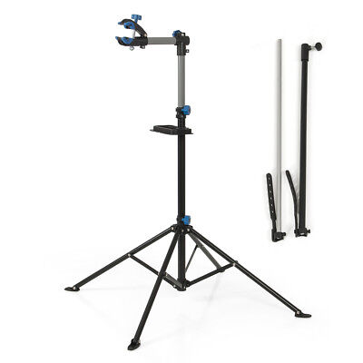 "Adjustable 43"" To 75"" Pro Bike Rack Repair Stand w/ Telescopic Arm Bicycle Cycle"