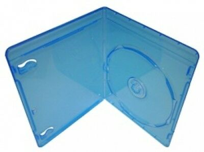 100 PREMIUM SLIM Blu-Ray Single DVD Cases 7MM