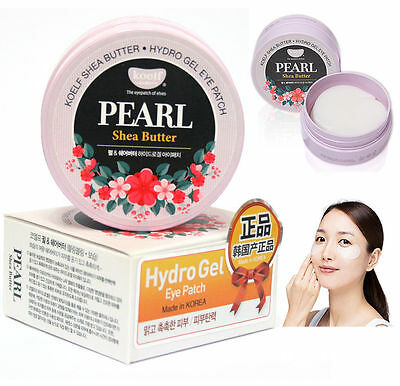 Koelf // Pearl Shea Butter Hydro Gel Eye Patch (60pcs/30pairs) Korean Cosmetics