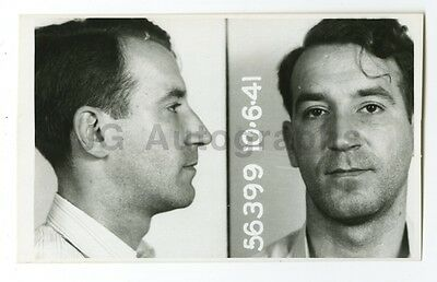 EARLY 20TH CENTURY Mug Shots - Unidentified Prison Inmate
