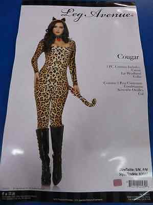 e0e071c18af Cougar Leopard Cheetah Cat Animal Fancy Dress Up Halloween Sexy Adult  Costume