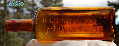 "Scarce LARGE size "" ELECTRIC "" Brand BITTERS antique bottle"