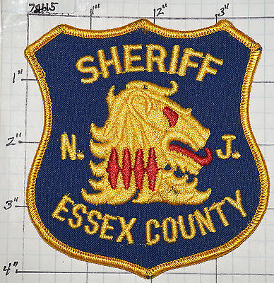 New Jersey, Essex County Sheriff Dept Patch
