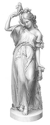 PRETTY YOUNG INNOCENT GIRL WOMAN MAIDEN VIRGIN ~ Old 1859 Art Print Engraving