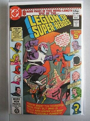 Legion of Super-Heroes Vol. 1 (1980-1984) #269 NM- UK Price Variant