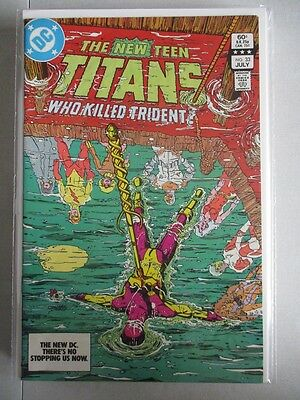 New Teen Titans (1980-1984) #33 VF/NM