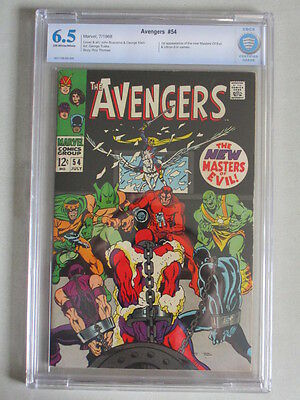 Avengers #54 1968 CBCS 6.5 OW/W Pages