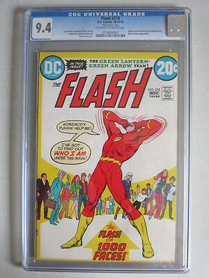 Flash #218 1972 CGC 9.4 OW/W Pages