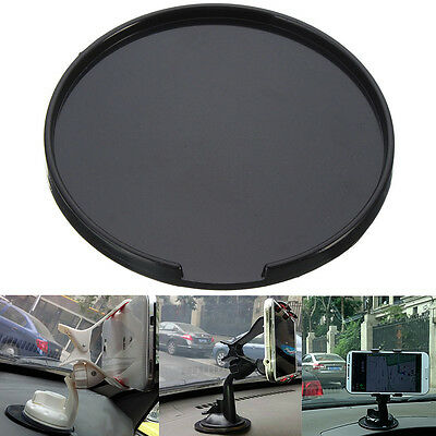 90mm Suction Cup Adhesive Mounting Disc Disk Base Pad For GPS Smartphones Stand