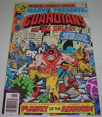 Marvel Presents #5 (1976) Guardians Of The Galaxy (Vf-) Vance Astro