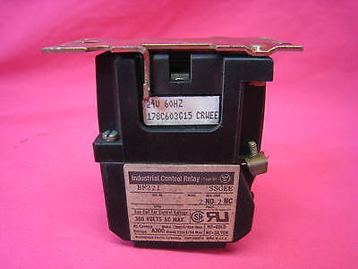 Westinghouse Industrial Control Relay 178C603G15 300 Volts Ac Max.