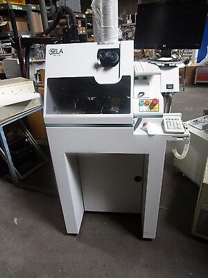 Sela Model MC-500 Die/Wafer Microcleaver System.  Manual Included. <