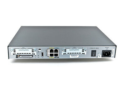 Cisco 1841 Router with CCIE 15.1 IOS, 64MB Flash/256MB Dram Memory CISCO1841