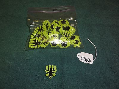 New Utech Mizuno 25 Count IG3 FTS 90221 Lime Green & Black FTS Golf Spikes CB090