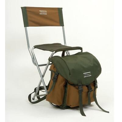 Shakespeare Deluxe Folding Chair With Rucksack Bag Game Fishing Seat 1154489