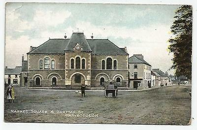 irish postcard ireland laois maryborough grattan street