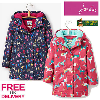 Joules Junior Girls Meriweather Coat (T) **BNWT** **FREE UK Shipping**