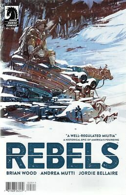 Rebels #5 (Dark Horse Comics)