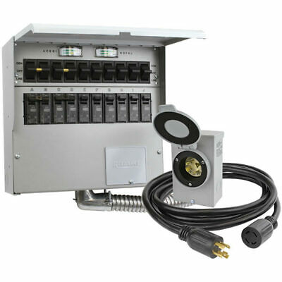 Reliance Controls Pro/Tran 2 - 30-Amp Power Transfer Switch Kit for Portable ...
