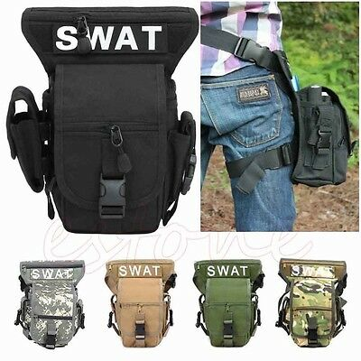 NEW SWAT MULTI-PURPOSE OUTDOOR LEG DROP UTILITY BAG THIGH PACK FANNY PACK Travel