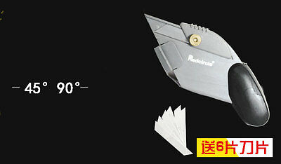 45&90° Angle Easy Mat Cutter with 6 Spare Blades Card Foam Mat Board Cutting