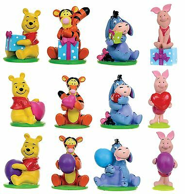 Official Disney Winnie The Pooh Resin Cake Toppers Figurines Rezin Disney Figure