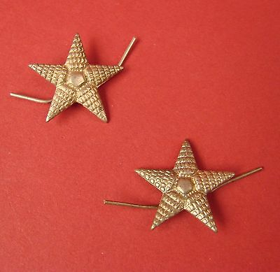 Soviet WW2 Red Army Officer Shoulder Boards Star LOT OF 2 Russian 1940s ORIGINAL