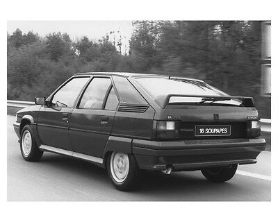 1988 Citroen BX 16 Automobile Factory Photo ch8518