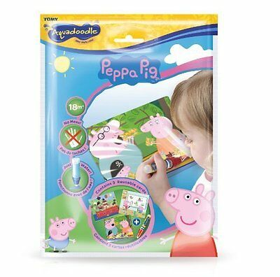 Peppa Pig Mini Aquadoodle Mats - 3 magic colouring mats from 18 months