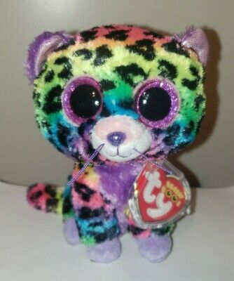 "Ty Beanie Boo's ~ TRIXIE the 6"" Leopard ~ 2014 Exclusive ~ MINT with MINT TAGS"