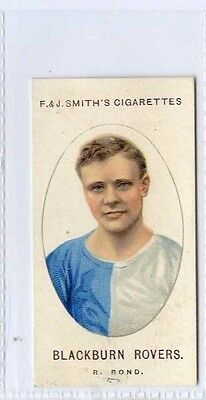 (Gw095-447) Smith, Football Club Records, #25 R.Bond Blackburn Rovers 1922 VG-EX