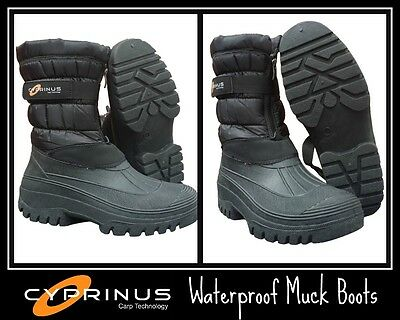 Cyprinus NEW Winter Boots 100% Waterproof Carp Fishing Boots RRP £49.99