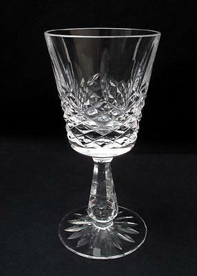 "Waterford Ireland Cut Crystal Kenmare 5.75"" Wine Glass Goblet Retired"