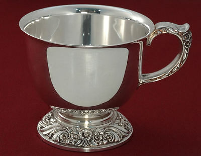 1847 Rogers Bros HERITAGE Silver Plated Coffee Tea Punch Bowl CUP Hard-to-Find