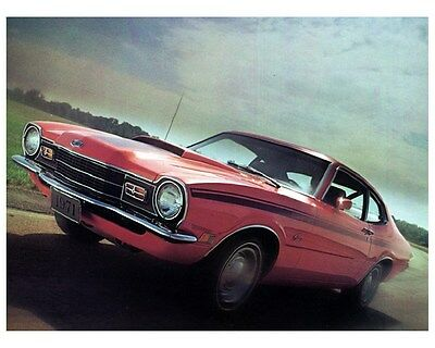 1971 Mercury Comet GT 2 Door Sedan Factory Photo ca2694