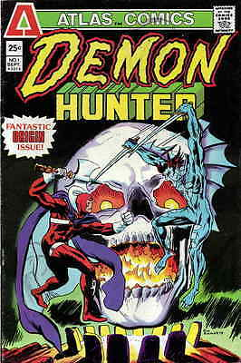 DEMON HUNTER #1 F, Buckler-c/a, Atlas/Seaboard Comics 1975