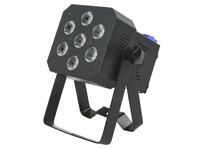 Monoprice Super-Bright, 12-watt x 7 LED PAR Stage Light (RGBAW-UV)