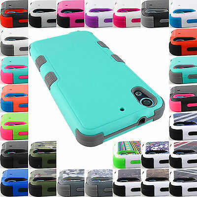 For Htc Desire Phone Models Shock Proof Tuff Rugged Case Protective Cover+Stylus