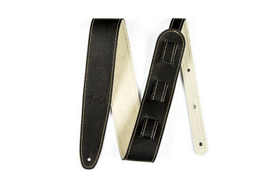 "Fender Ball Glove Leather Guitar Strap 2.25""  Black"