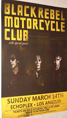 Black Rebel Motorcycle Club Poster . Concert BRMC