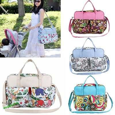 Waterproof Baby Nappy Changing Bags With Changing Mat Diaper Bag Mat UK STOCK