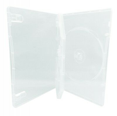 (SAMPLE) - 1 STANDARD Clear Triple 3 Disc DVD Cases /w Patented M-Lock Hub