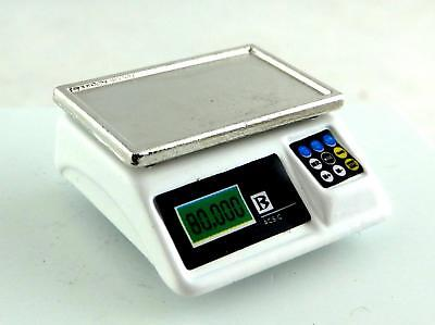 Dolls House Miniature Shop Kitchen Accessory Modern 1:12 Digital Weighing Scales