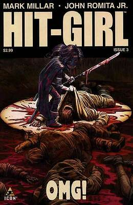HIT GIRL #3 NEAR MINT 1st PRINT REGULAR COVER